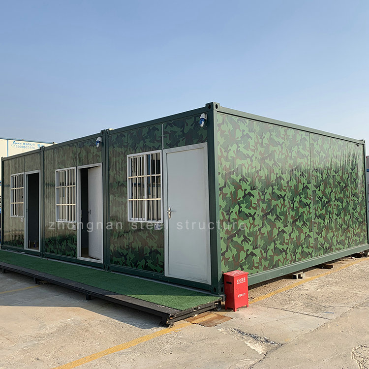 Camouflage Assemble Container House
